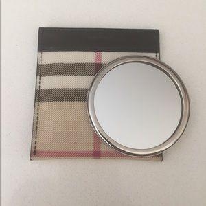 Authentic Burberry Circle Mirror